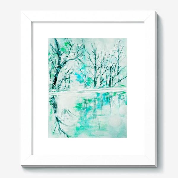 Картина «Кристальная река. Crystal river.»