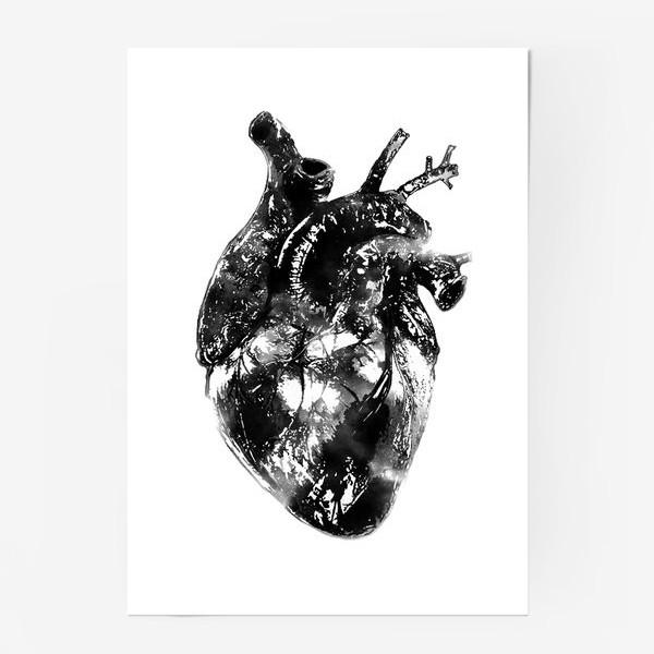 Постер «Послушай как бьётся сердце...»