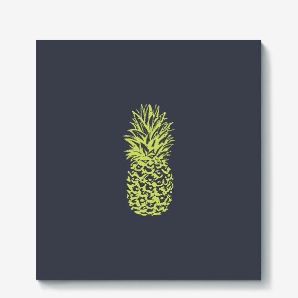 Холст «ананас»