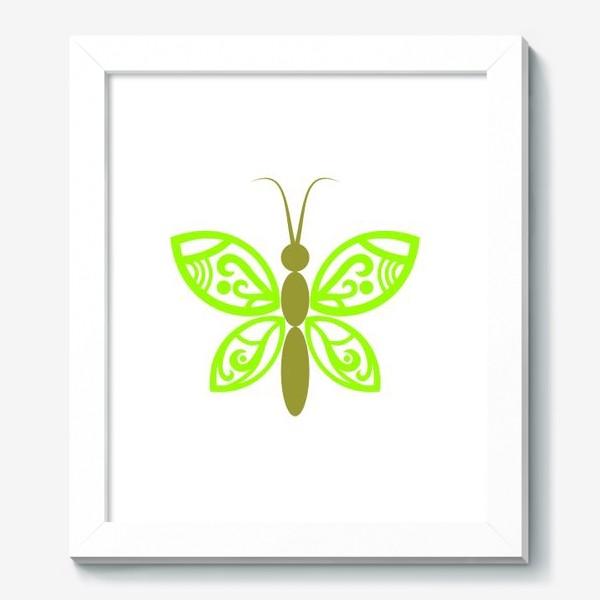 Картина «Весенняя бабочка»