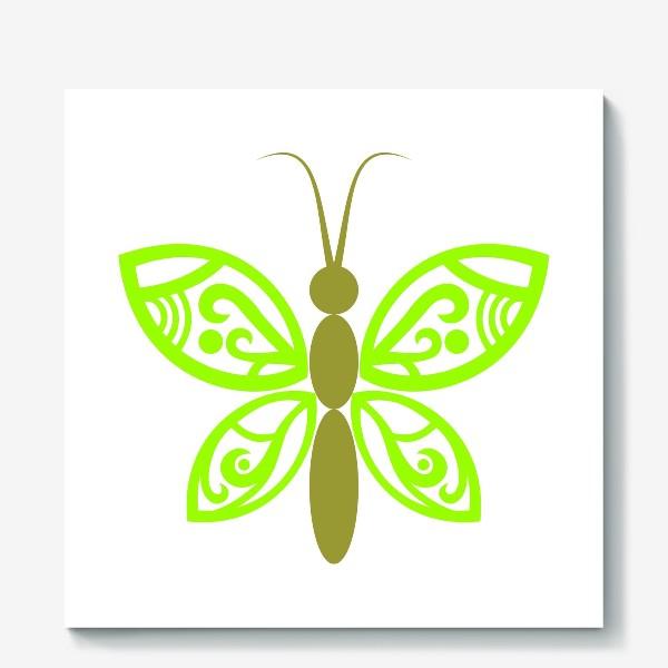 Холст «Весенняя бабочка»