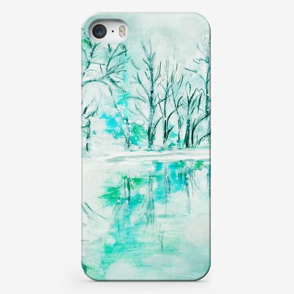 Чехол iPhone «Кристальная река. Crystal river.»