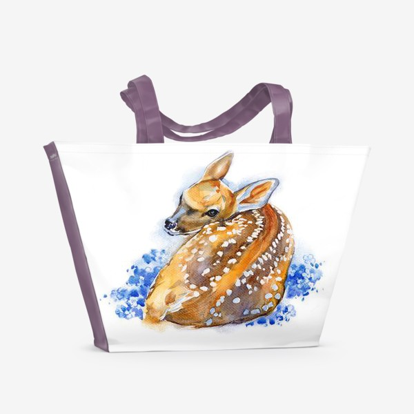 Пляжная сумка «Оленёнок»
