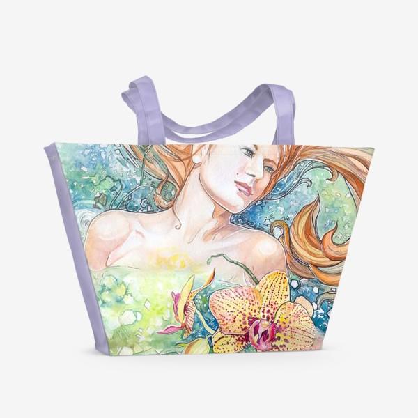 Пляжная сумка «Весна»