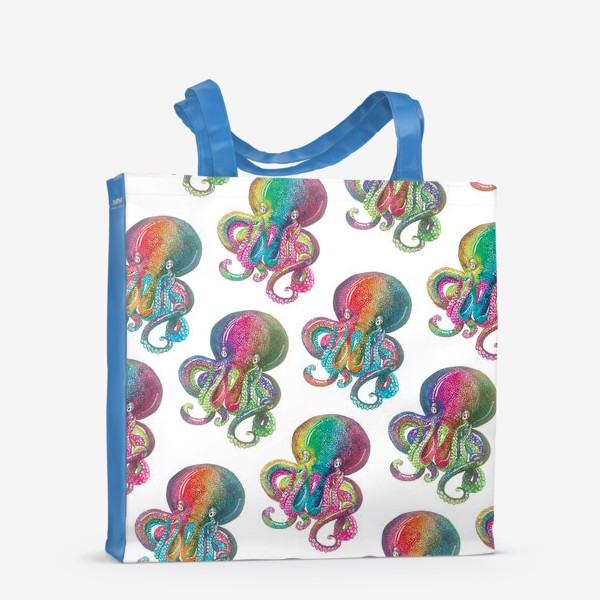 Сумка-шоппер «Радужный осьминог»
