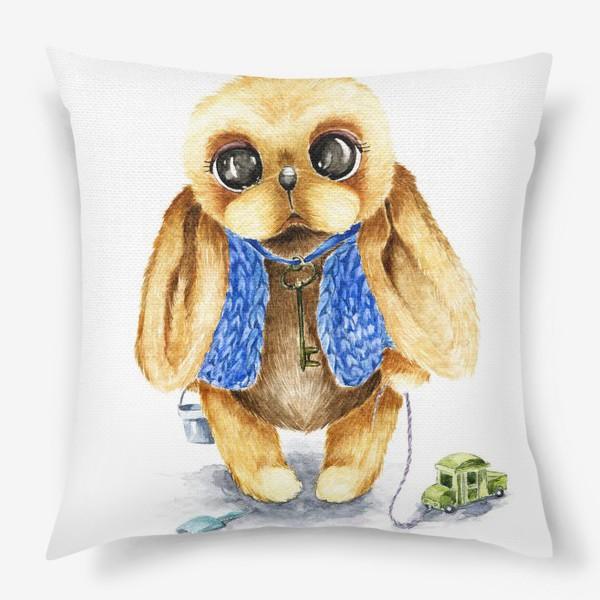 Подушка «Игрушка зайка»