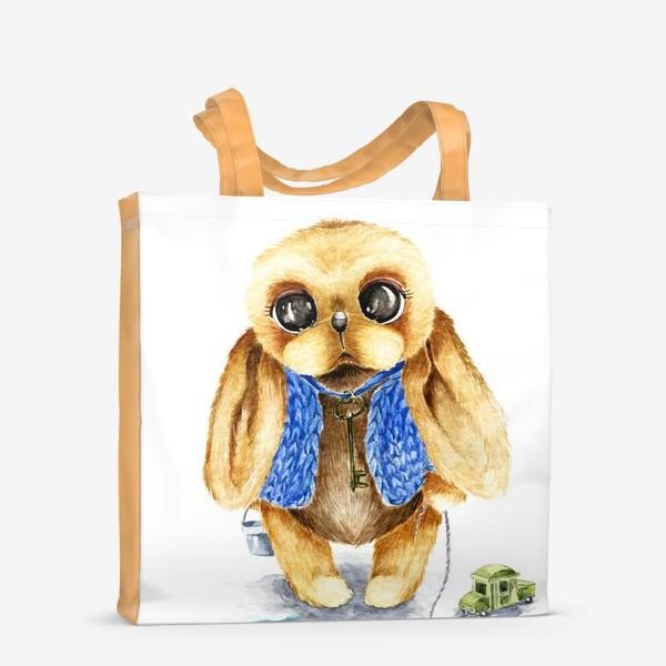 Сумка-шоппер «Игрушка зайка»