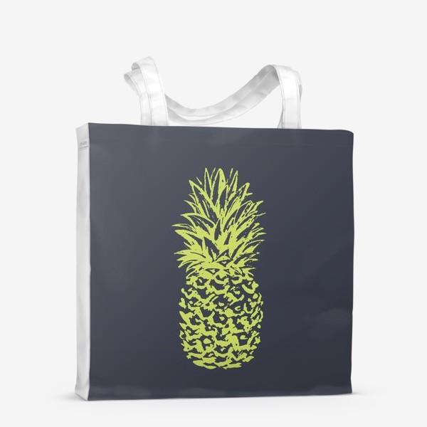 Сумка-шоппер «ананас»
