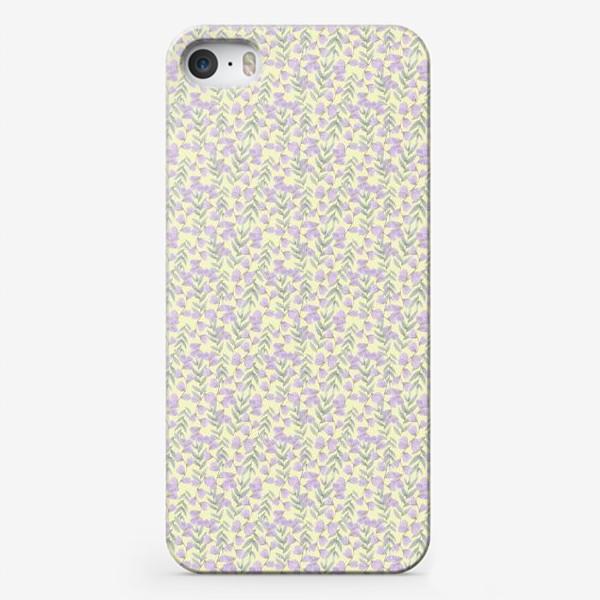 Чехол iPhone «Растительный орнамент »