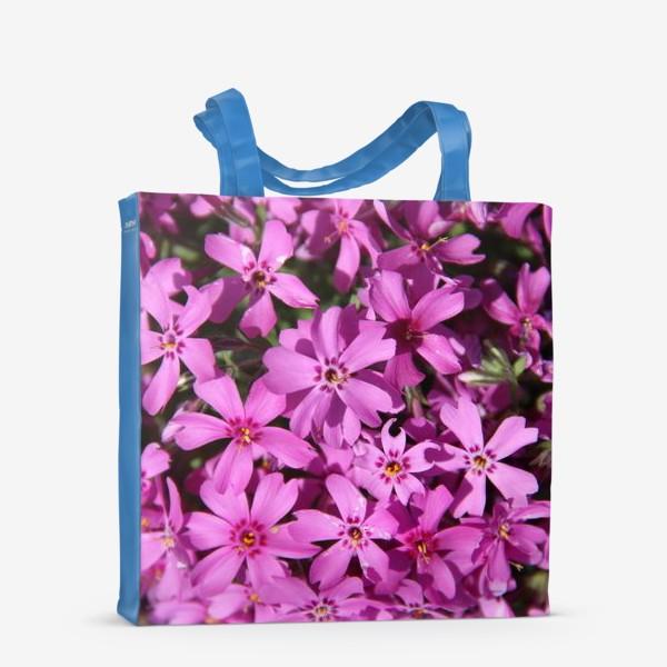 Сумка-шоппер «цветущий мох»