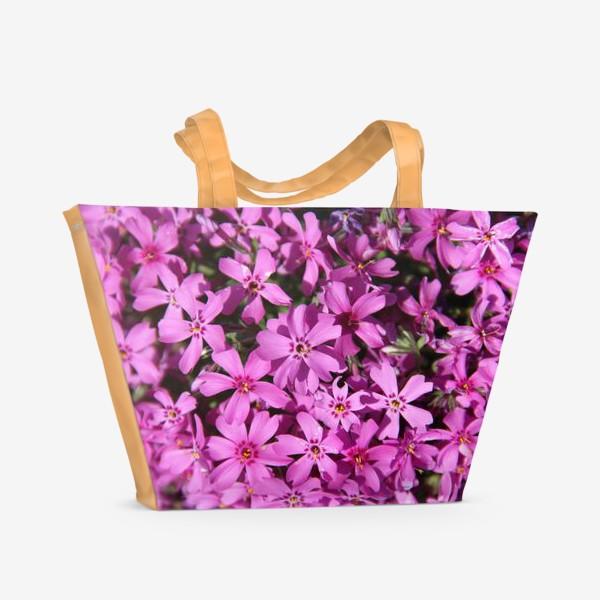 Пляжная сумка «цветущий мох»