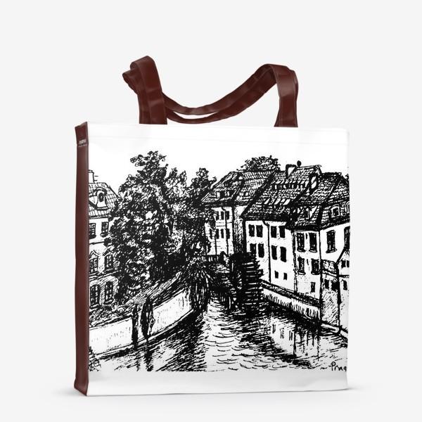 Сумка-шоппер «Prague walks»