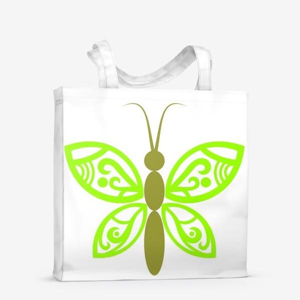 Сумка-шоппер «Весенняя бабочка»
