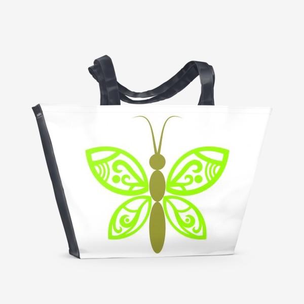 Пляжная сумка «Весенняя бабочка»
