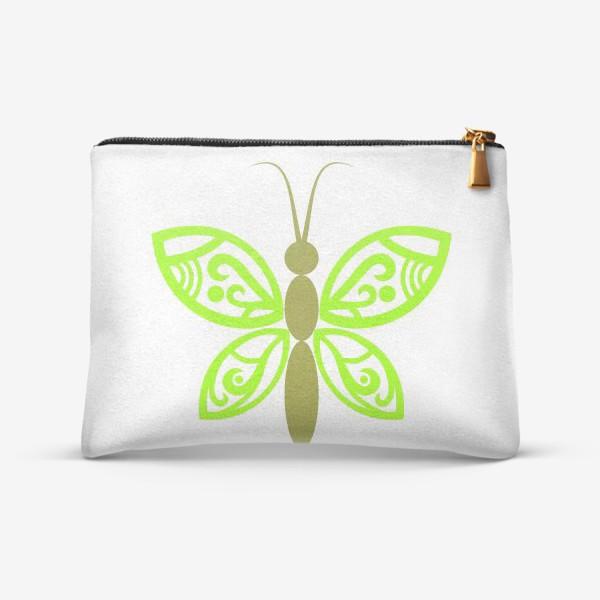 Косметичка «Весенняя бабочка»