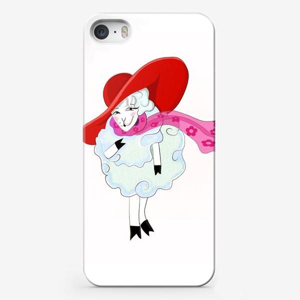 Чехол iPhone «Овечка»
