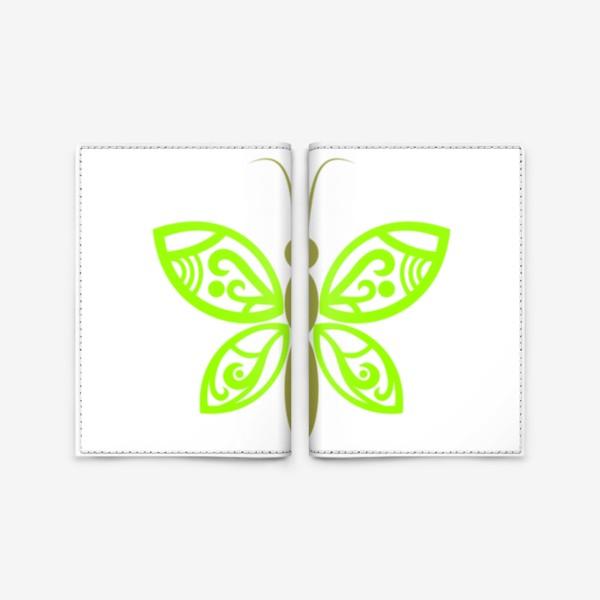 Обложка для паспорта «Весенняя бабочка»