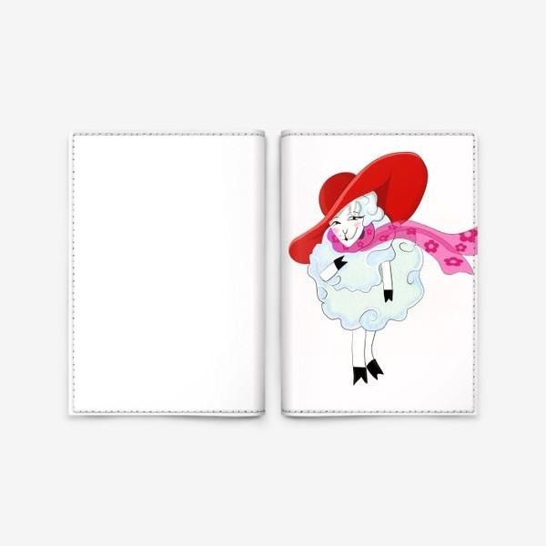 Обложка для паспорта «Овечка»