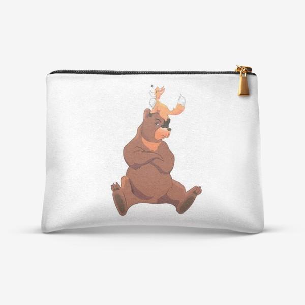 Косметичка «Медведь и лиса»