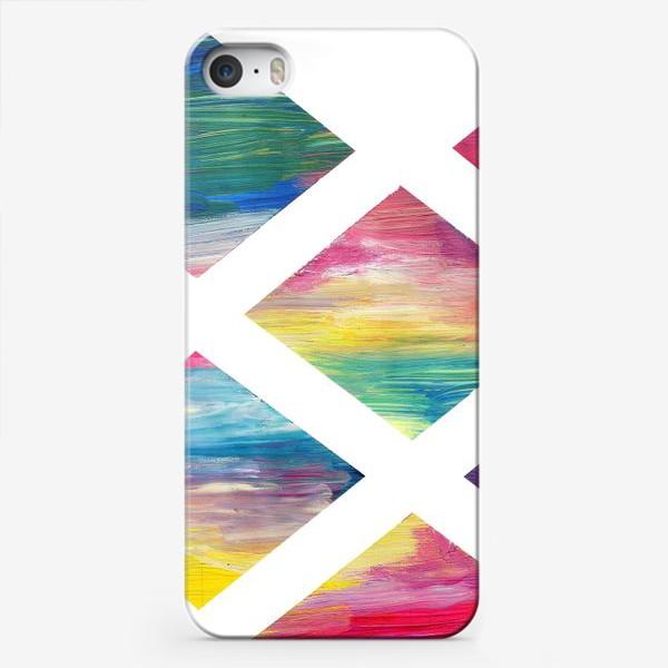 Чехол iPhone «rhombus»