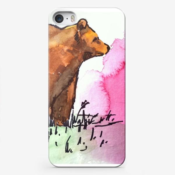 Чехол iPhone «Медведь»