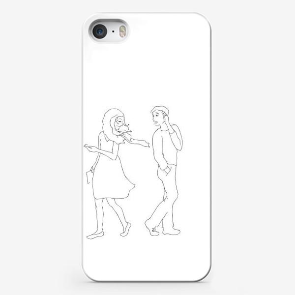 Чехол iPhone «Встреча»