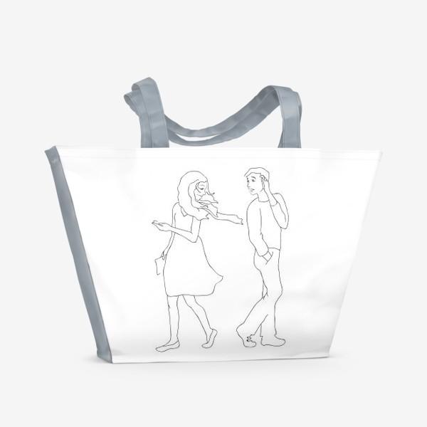 Пляжная сумка «Встреча»