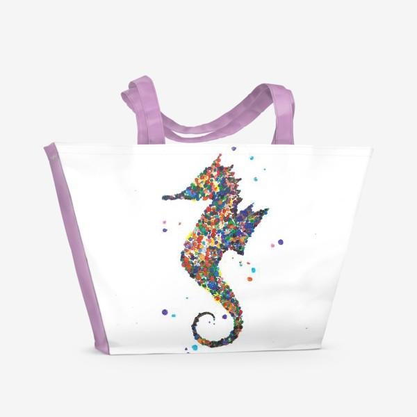 Пляжная сумка «Конёк»