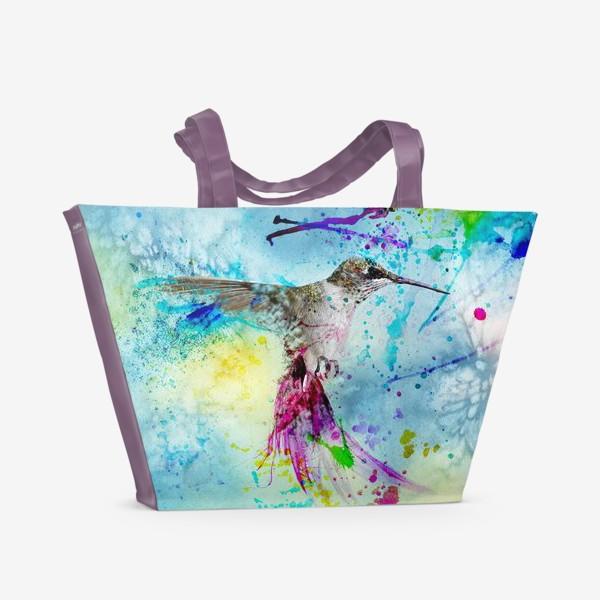 Пляжная сумка «Колибри /Kolibri/»