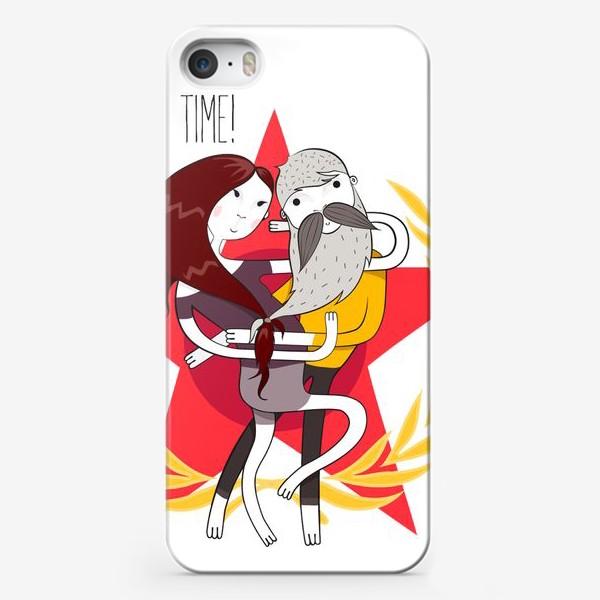 Чехол iPhone «Love time!»