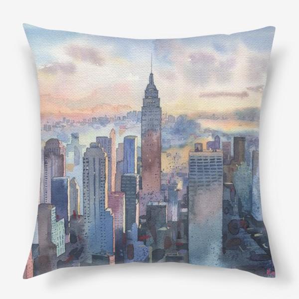 Подушка «Нью-Йорк»