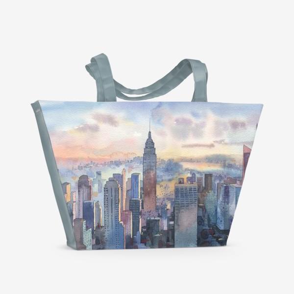 Пляжная сумка «Нью-Йорк»