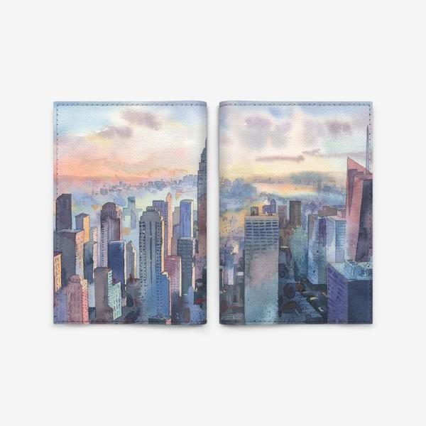 Обложка для паспорта «Нью-Йорк»
