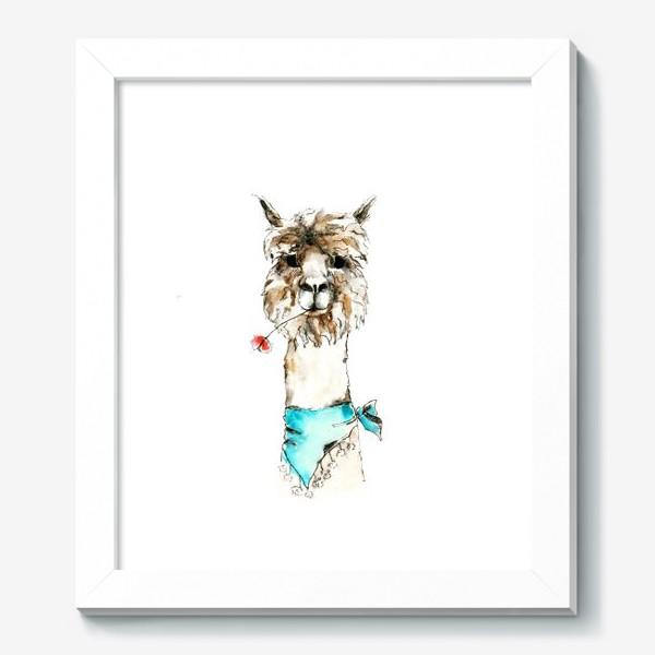 Картина «Жизнерадостная альпака»