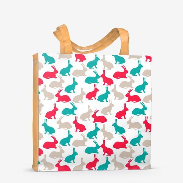 Сумка-шоппер «Весенние кролики»