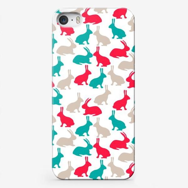 Чехол iPhone «Весенние кролики»