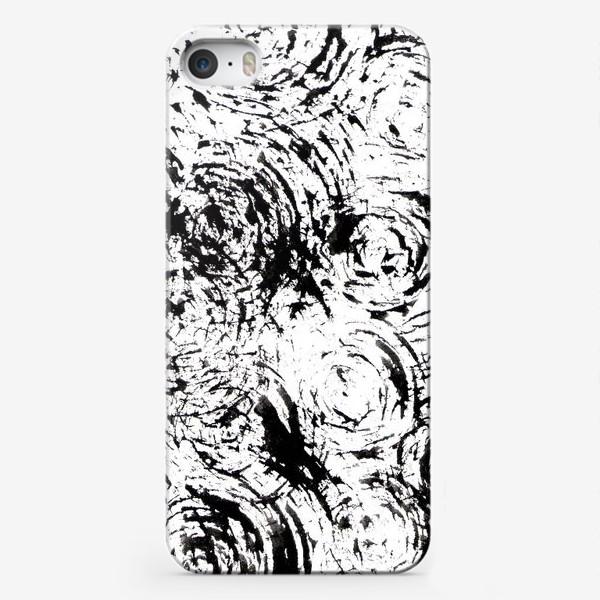 Чехол iPhone «круги и штрихи»