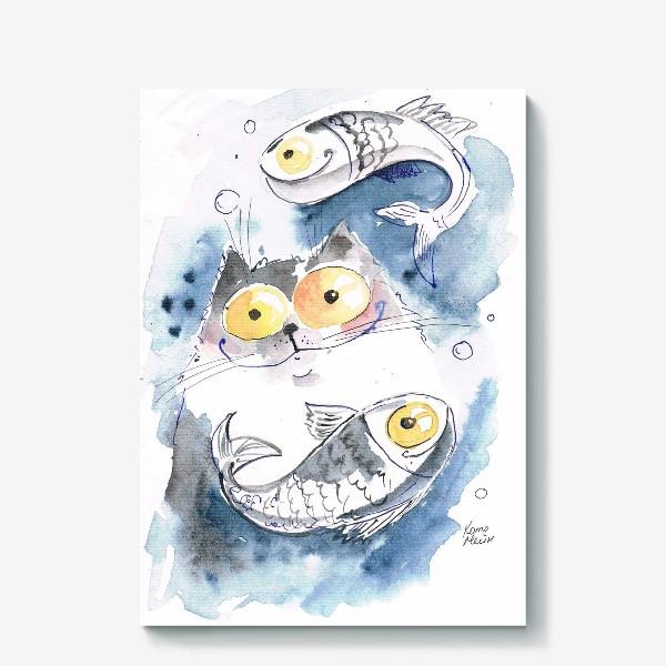 Холст «Рыбы гороскоп»