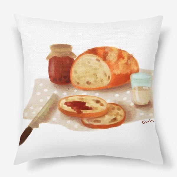 Подушка «Хлеб с джемом»