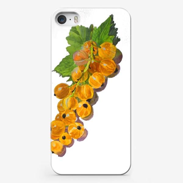 Чехол iPhone «Белая смородинка»