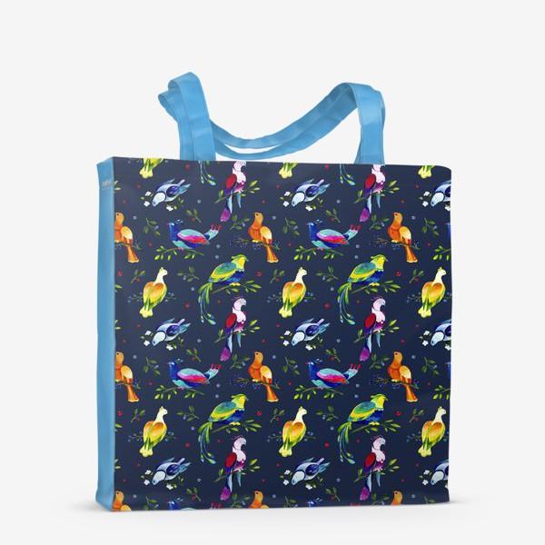 Сумка-шоппер «Фантастические птицы»