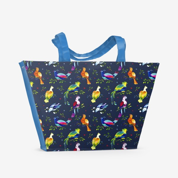 Пляжная сумка «Фантастические птицы»