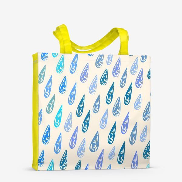 Сумка-шоппер «Дождь паттерн»