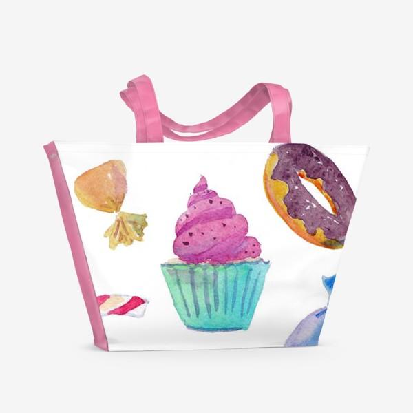 Пляжная сумка «Сладкая жизнь»