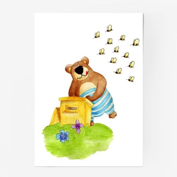 Постер «Медведь и мёд»