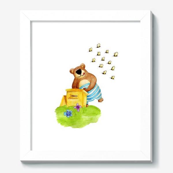Картина «Медведь и мёд»