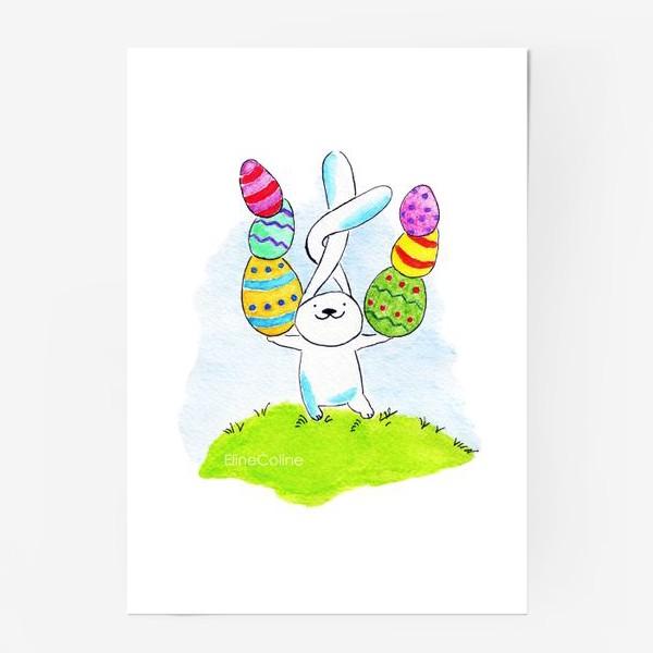 Постер «Пасхальный заяц»