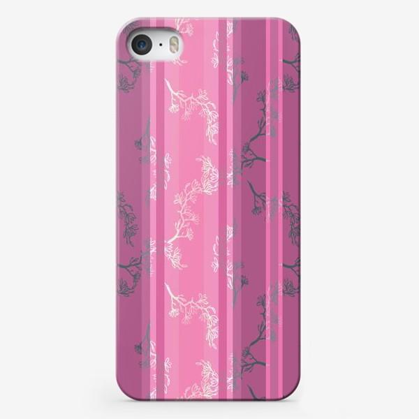 Чехол iPhone «Ветки магнолии»