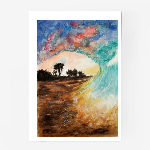 Постер «Волна»