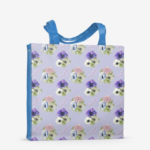 Сумка-шоппер «Цветочный узор »